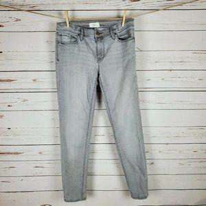 Lou & Grey Slouch & Skinny Gray Jeans Size 27